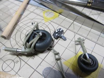Ho229A-1前輪と主輪