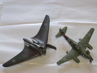 Ho229A-1bとMe262A-1aの1