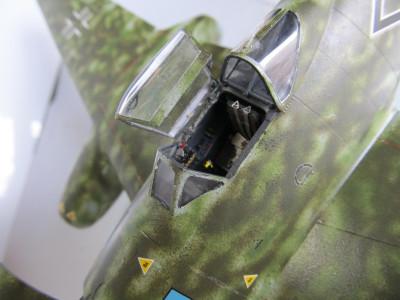 田宮Me262A-1-a.コクピット.02