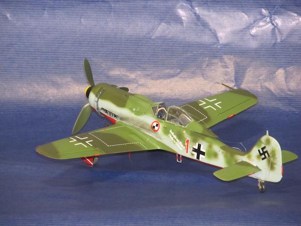 田宮模型Fw190D9完成㊻