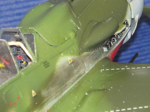 田宮模型Fw190D9完成⑭