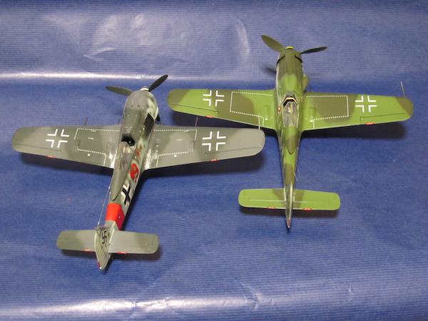 田宮模型Fw190D9完成㉙