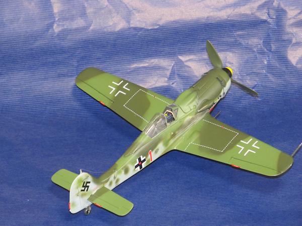 田宮模型Fw190D9完成㊷