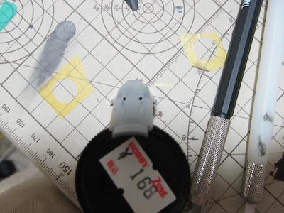 田宮模型Fw190D9機首機銃④