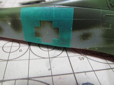田宮模型Fw190D9胴体国籍マークマスク