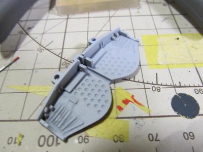 田宮模型Fw190D9主翼機銃⑧