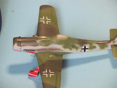田宮模型Fw190D9排気汚れ