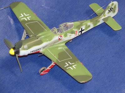 田宮模型Fw190D9完成㊳
