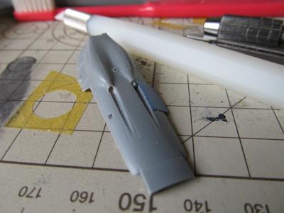 田宮模型Fw190D9機首機銃①