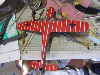 田宮模型Fw190D9下面塗装終了