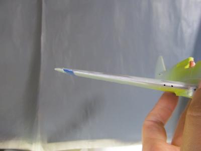P40B右翼翼端修正前②